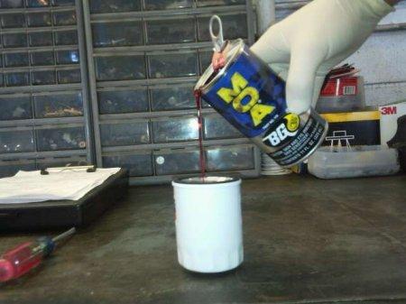 Wet Oil Filter