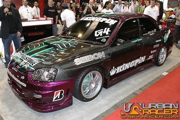 Race Subaru