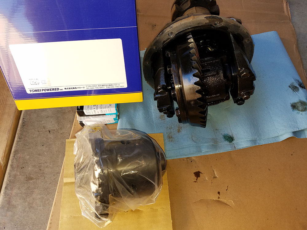 Miata Tomei rear differential